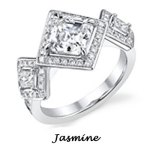 Jasmine Engagement ring by Disney