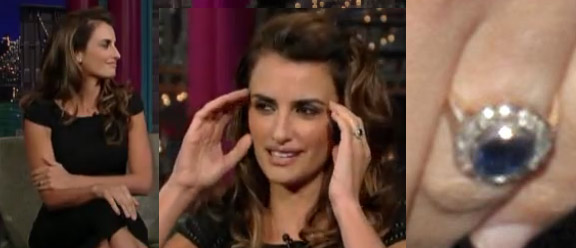 Penelope Cruz engagement/wedding ring?