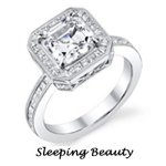 Sleeping Beauty Engagement ring by Disney
