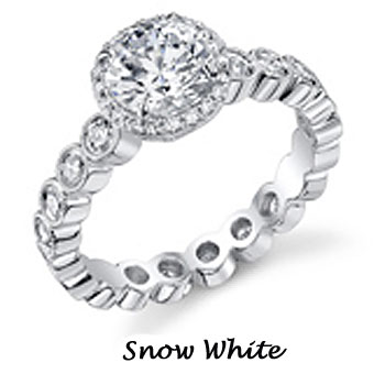 Snow white ariel engagement ring by disney wedding for Snow white wedding ring
