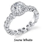 Snow White Ariel engagement ring by Disney