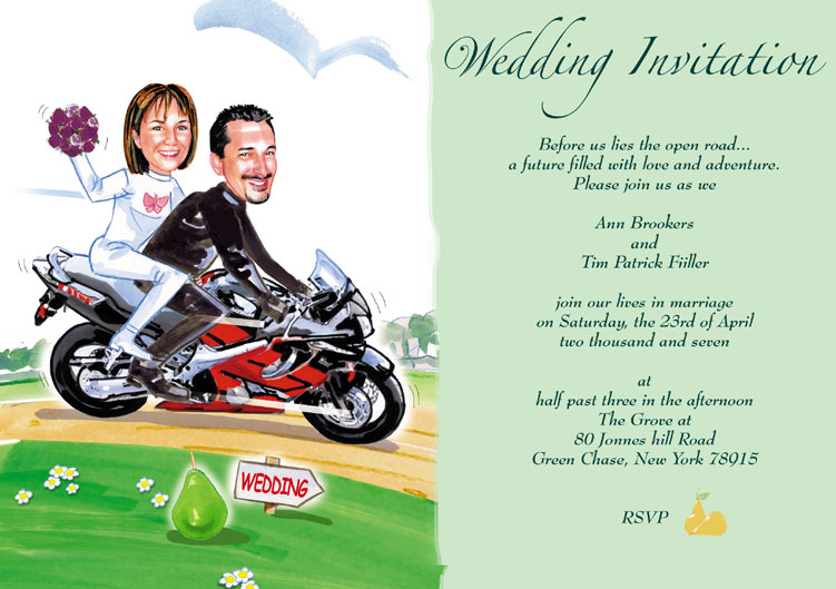 Examples of funny modern wedding invitations | Wedding ...