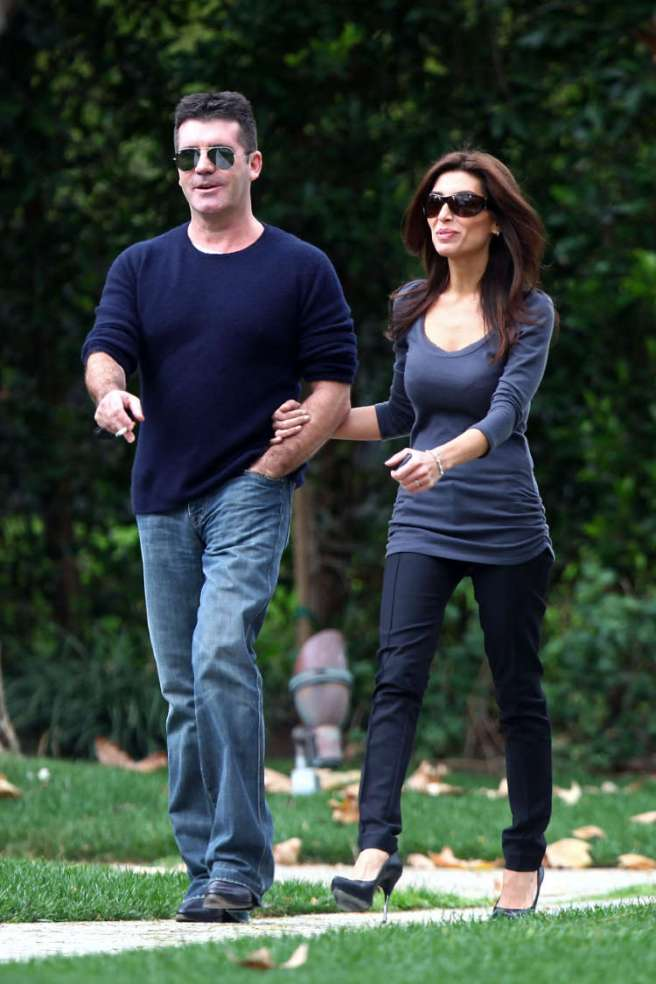 Simon Cowell engaged to Mezhgan Hussainy
