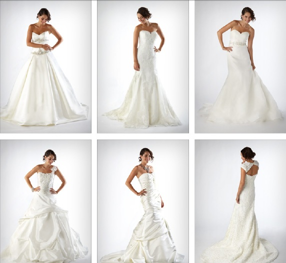 Costco wholesale wedding dresses by Kirstie Kelly