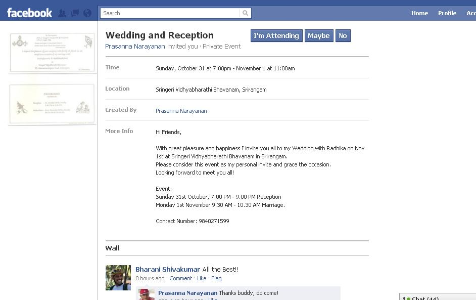sample wedding invitation on facebook wedding invitation With wedding invitation text for facebook