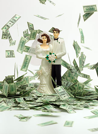 Cash wedding registry