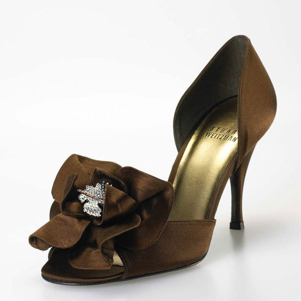 The most expensive wedding shoe in the world - Stuart Weitzman's Rita Hayworth Heels – Estimated price : $3,100,000